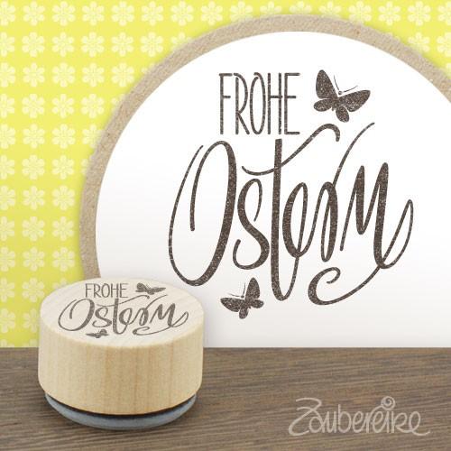Midistempel Frohe Ostern