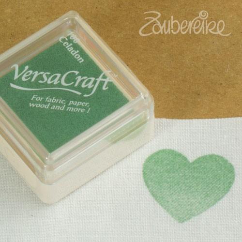 Stoff-Stempelfarbe 160 Celadon von VersaCraft mini