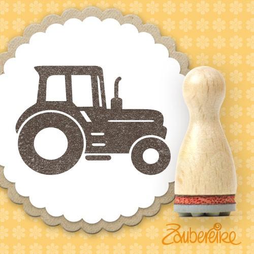 Ministempel Traktor