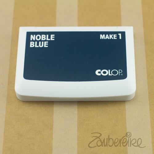 Stempelkissen, Colop Make 1, Noble Blue