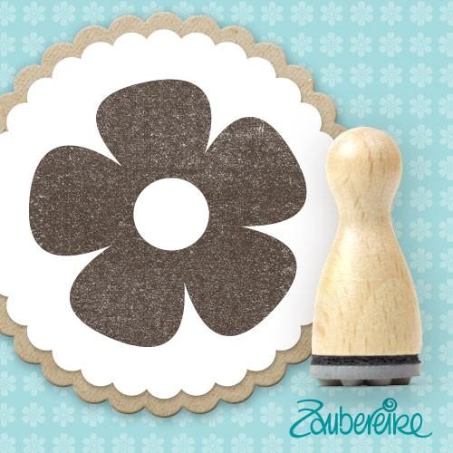 Ministempel 5-blättrige Blume