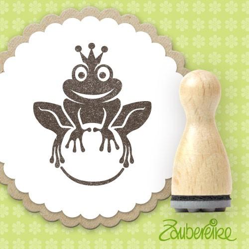 Ministempel Froschkönig