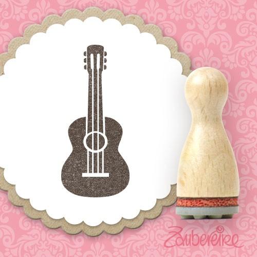 Ministempel Gitarre