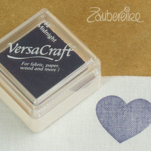 Stoff-Stempelfarbe 162 Midnight von VersaCraft mini