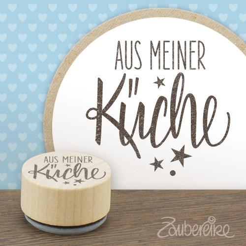 """Midistempel """"Aus meiner Küche"""""""