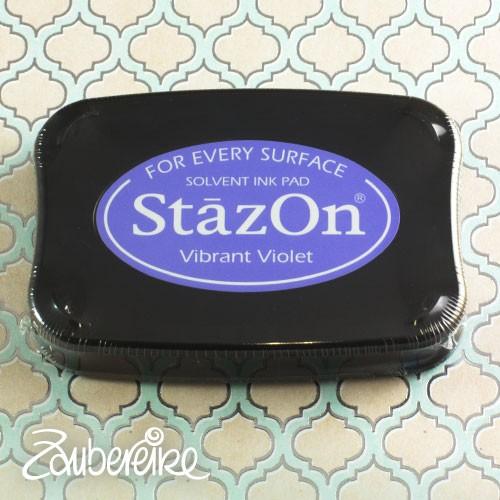 StazOn 12 Vibrant Violet, solvent ink