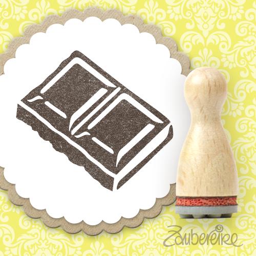 Ministempel Schokolade