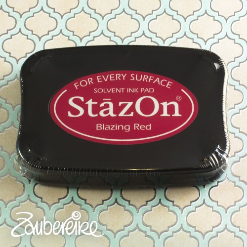 StazOn 21 Blazing Red, solvent ink
