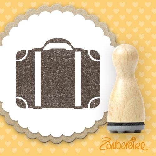Ministempel Koffer