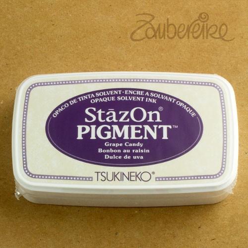 StazOn Pigment 011 Grape Candy, solvent opaque ink