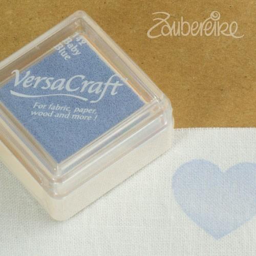 Stoff-Stempelfarbe 142 Baby Blue von VersaCraft mini