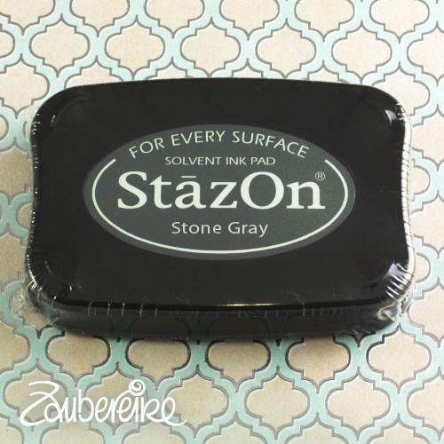 StazOn 32 Stone Gray, solvent ink
