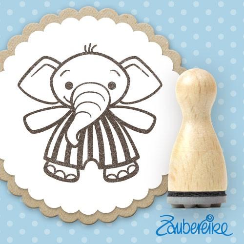 Ministempel Egidius Elefant