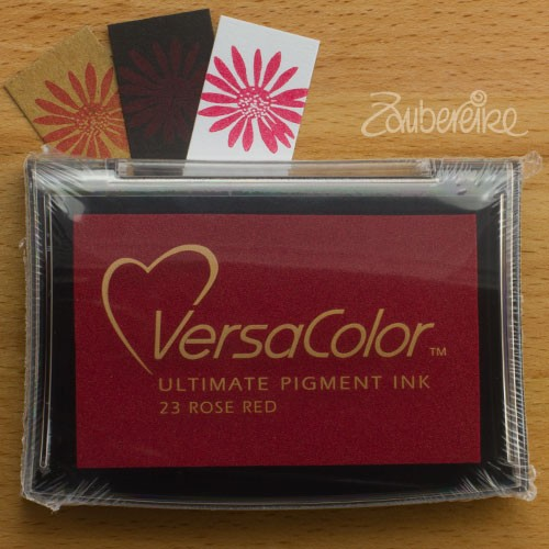 Stempelkissen VersaColor 23 Rose Red