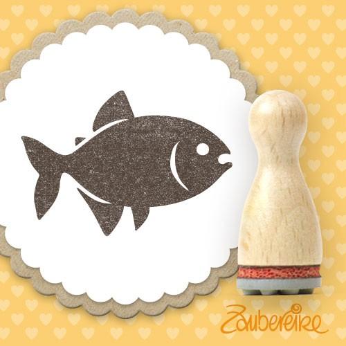 Ministempel Fisch