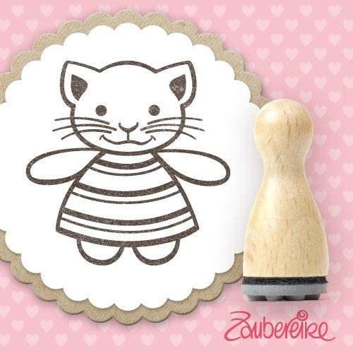 Ministempel Kimi Katze