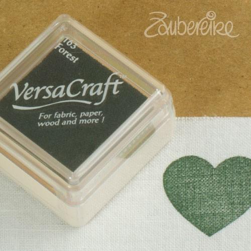 Stoff-Stempelfarbe 163 Forest von VersaCraft mini