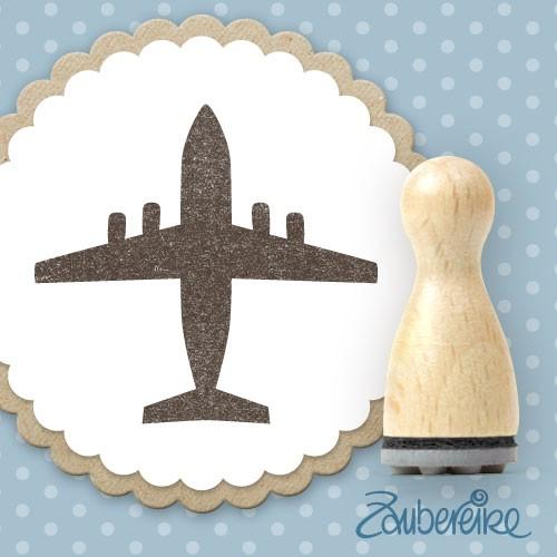 Ministempel Flugzeug