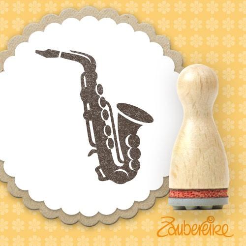Ministempel Saxophon