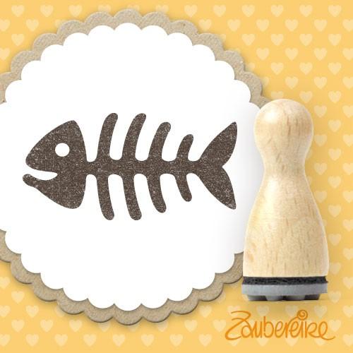 Ministempel Fischgräte