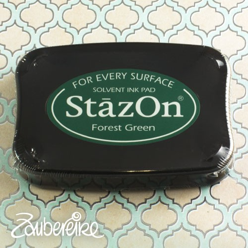 StazOn 99 Forest Green, solvent ink