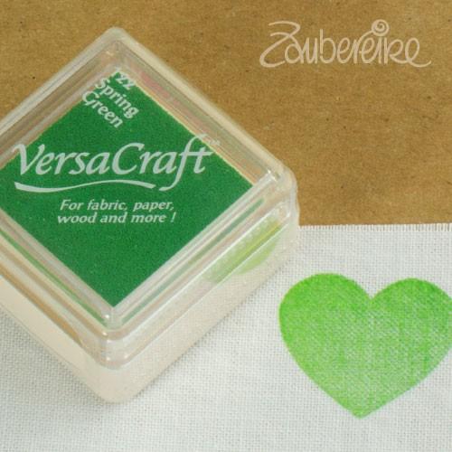 Stoff-Stempelfarbe 122 Spring Green von VersaCraft mini