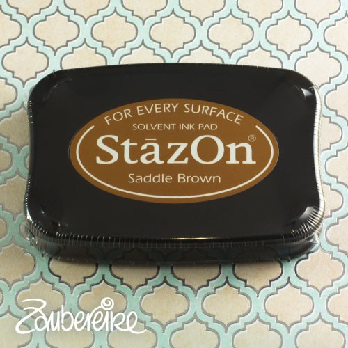 StazOn 43 Saddle Brown, solvent ink