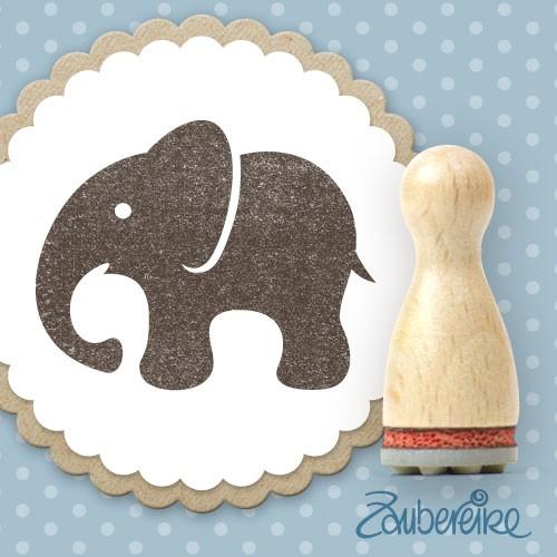 Ministempel Elefant