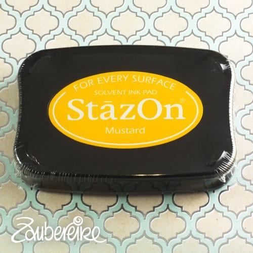 StazOn 91 Mustard, solvent ink