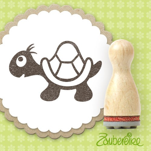 Ministempel Schildkröte