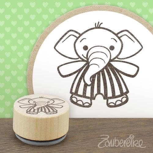 Midistempel Egidius Elefant