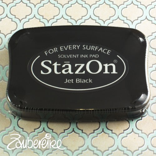 StazOn 31 Jet Black, solvent ink