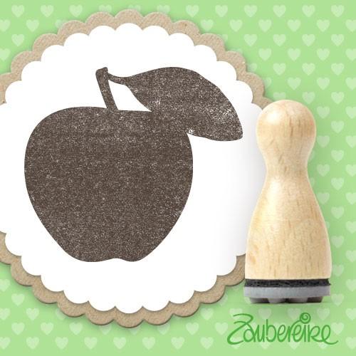 Ministempel Apfel