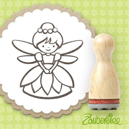 Ministempel Blumenfee