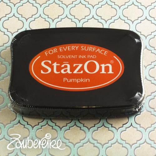 StazOn 92 Pumpkin, solvent ink