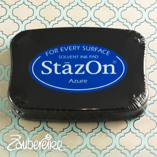 StazOn 95 Azure, solvent ink