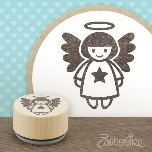Midistempel Engel