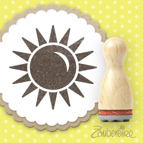 Ministempel Sonne