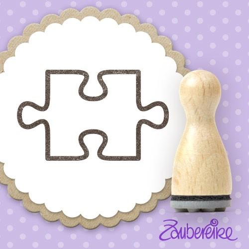 Ministempel Puzzleteil (Kontur)
