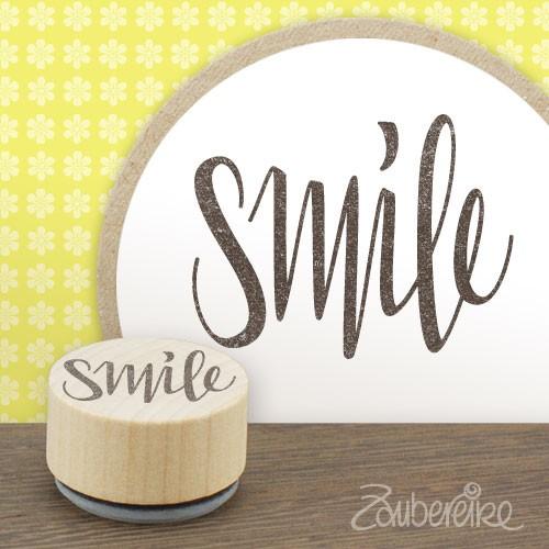 """Midistempel """"smile"""""""