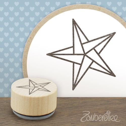 Midistempel Origami-Stern